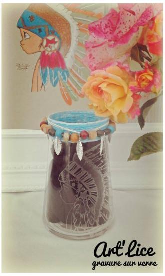 """Petit vase """"sioux"""""""