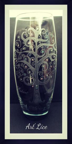 """Vase """"Arbre Pétillant"""""""