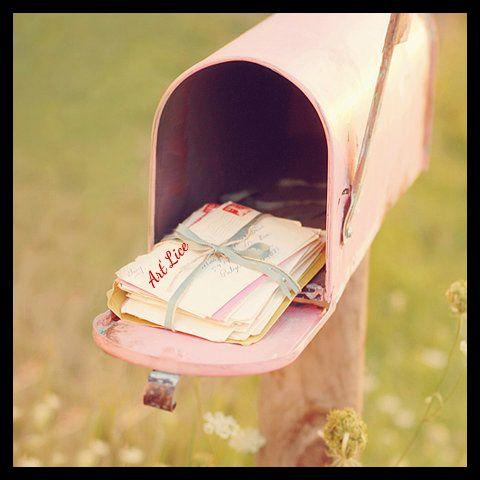 """Boîte aux lettre """"vous avez un message"""""""